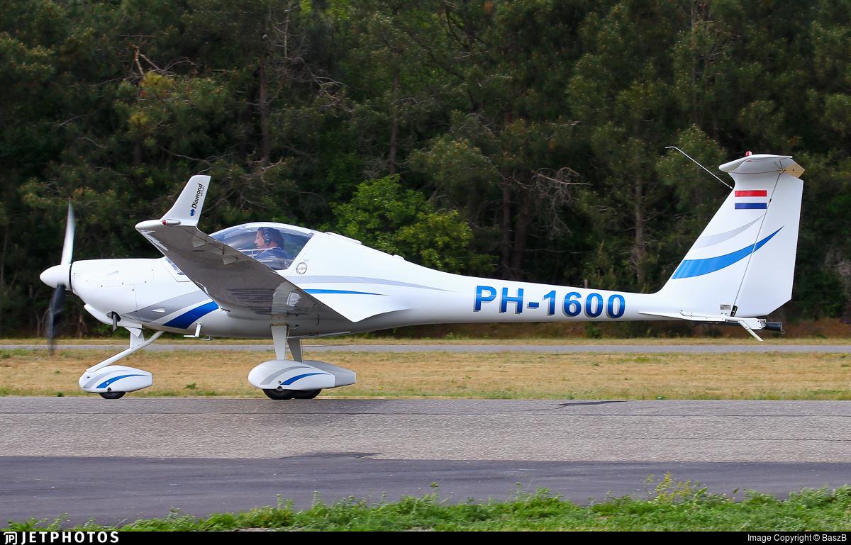 PH-1600 - Diamond Aircraft HK36 Super Dimona - Private