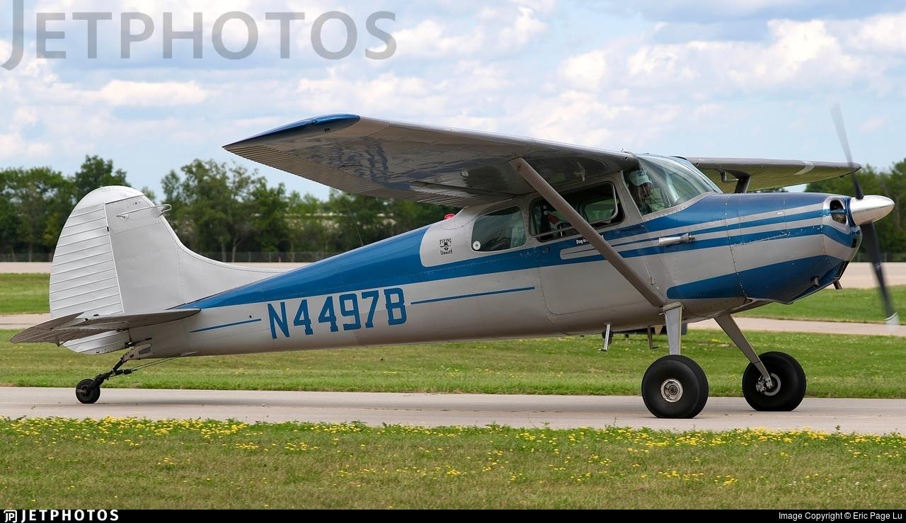 N4497B - Cessna 170B - Private