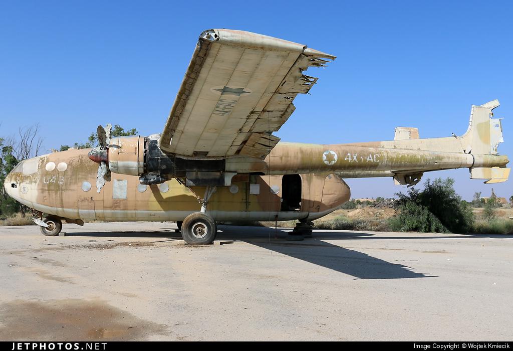 4X-FAC - Nord 2501 Noratlas - Israel - Air Force
