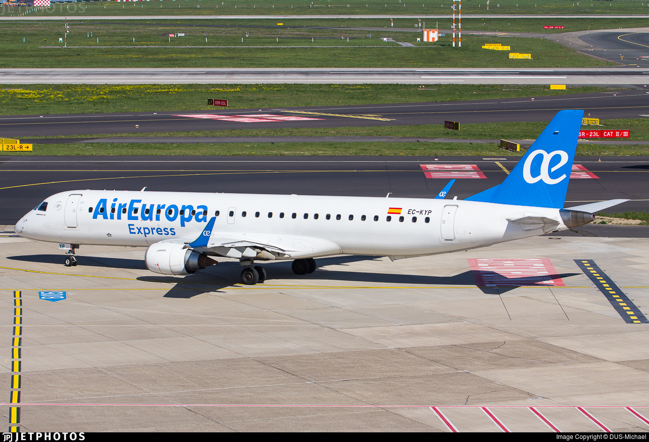 EC-KYP - Embraer 190-200LR - Air Europa Express
