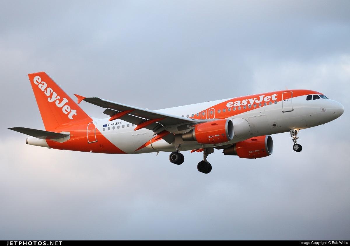 G-EZFE - Airbus A319-111 - easyJet
