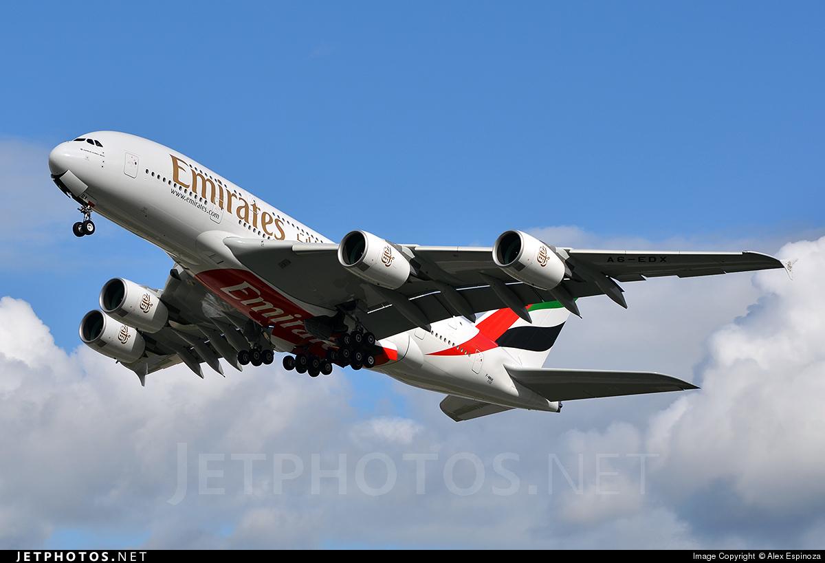 F-WWAK - Airbus A380-861 - Emirates