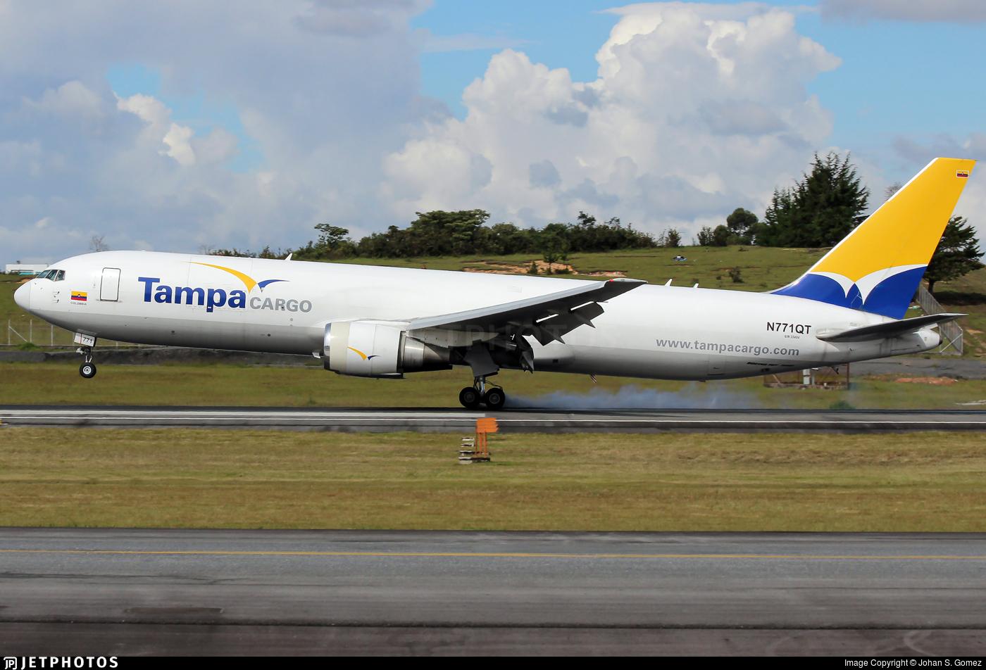 N771QT - Boeing 767-381F(ER) - Tampa Cargo