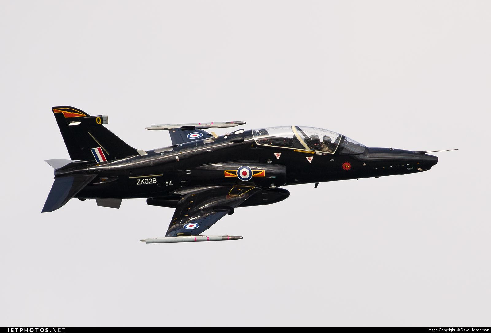 ZK026 - British Aerospace Hawk T.2 - United Kingdom - Royal Air Force (RAF)