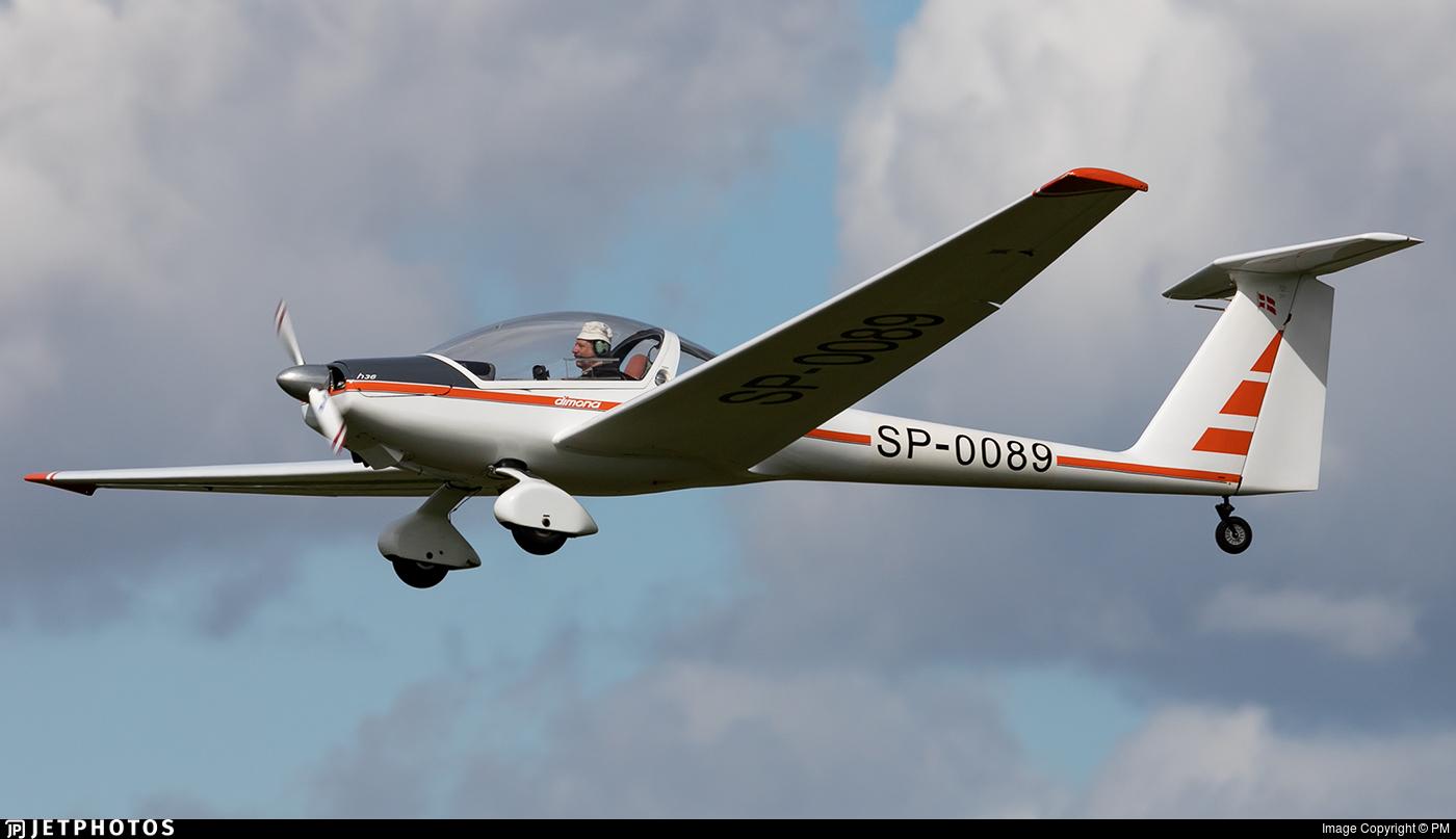 SP-0089 - Diamond Aircraft HK36 Super Dimona - Private