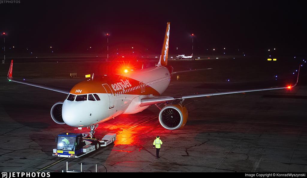 G-UZHH - Airbus A320-251N - easyJet