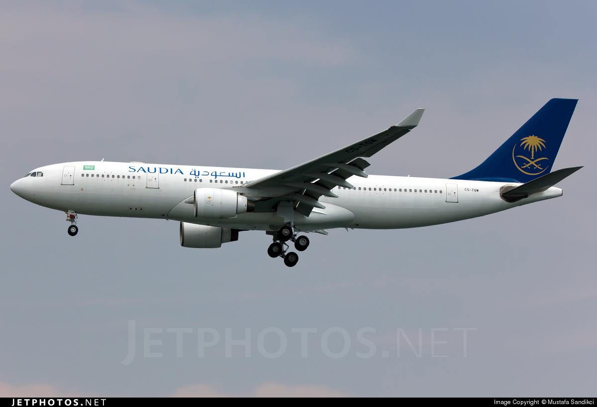 CS-TQW - Airbus A330-223 - Saudi Arabian Airlines (HiFly)