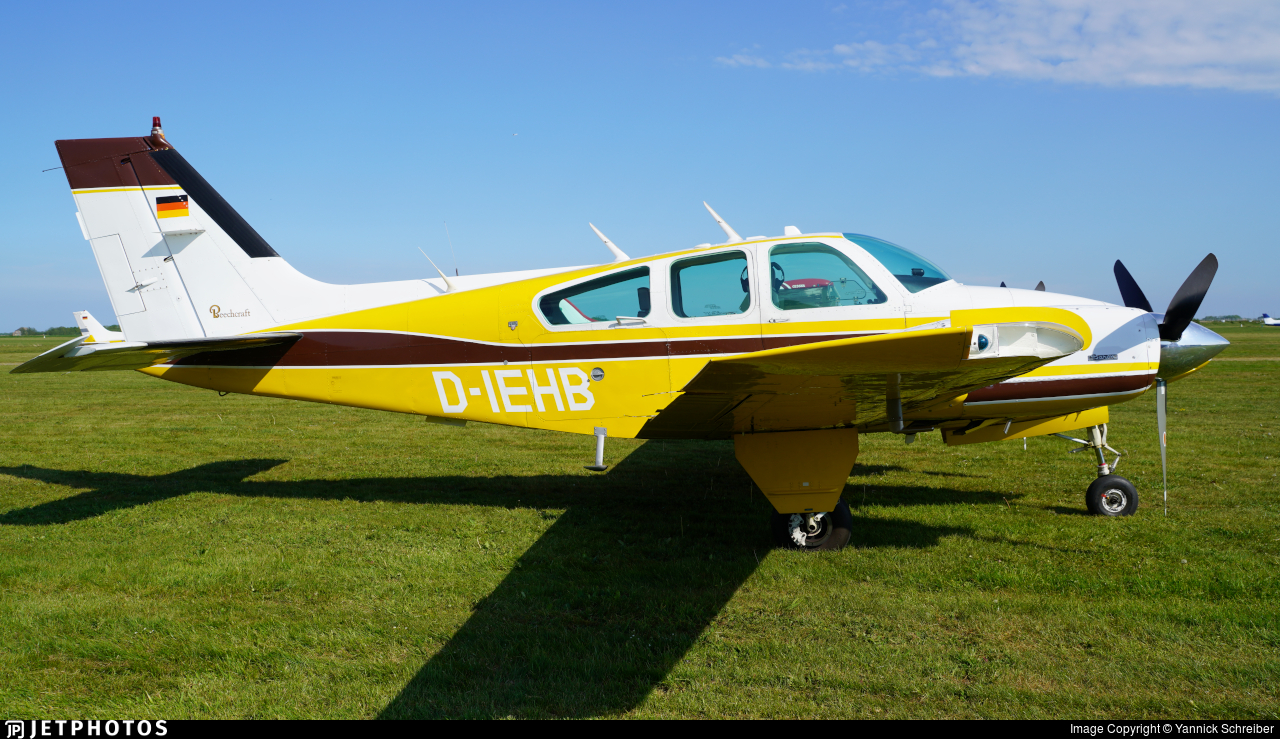 D-IEHB - Beechcraft 95-B55 Baron - Private