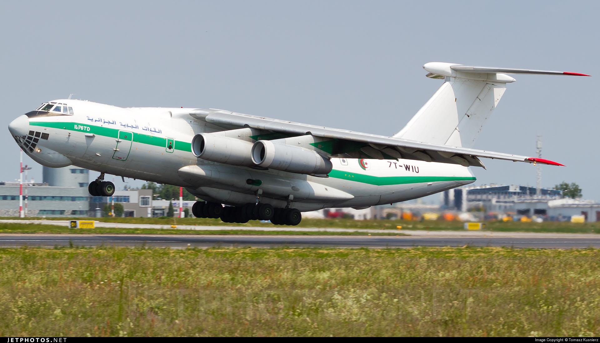 7T-WIU - Ilyushin IL-76TD - Algeria - Air Force