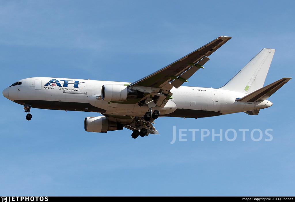 N739AX - Boeing 767-232(BDSF) - Air Transport International (ATI)