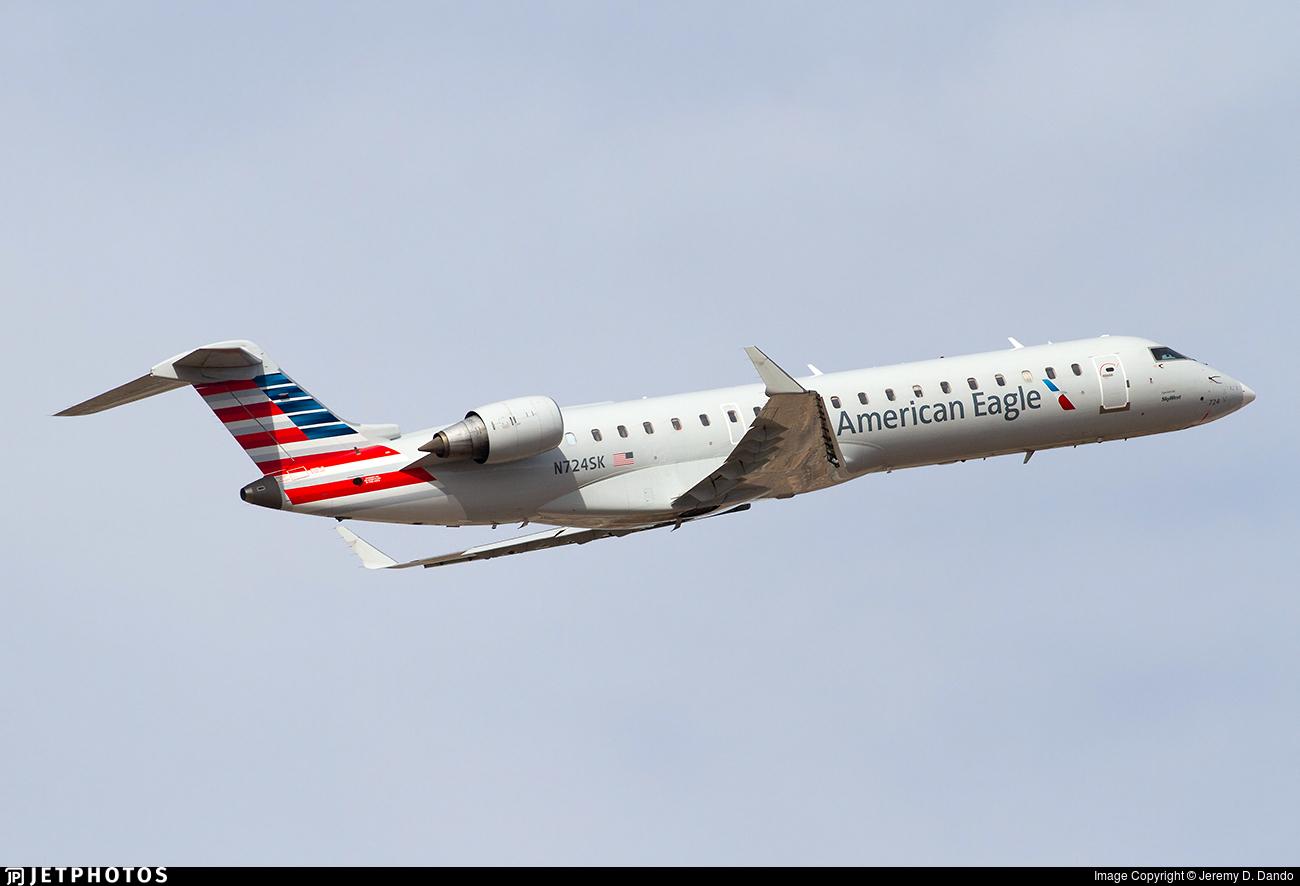N724SK - Bombardier CRJ-701ER - American Eagle (SkyWest Airlines)