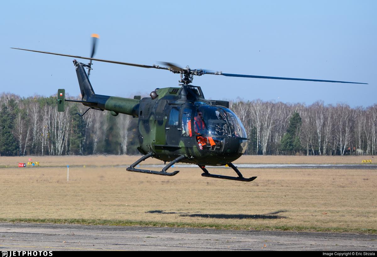 SP-YWA - MBB Bo105P1 - Private