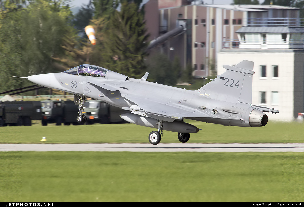224 - Saab JAS-39C Gripen - Sweden - Air Force