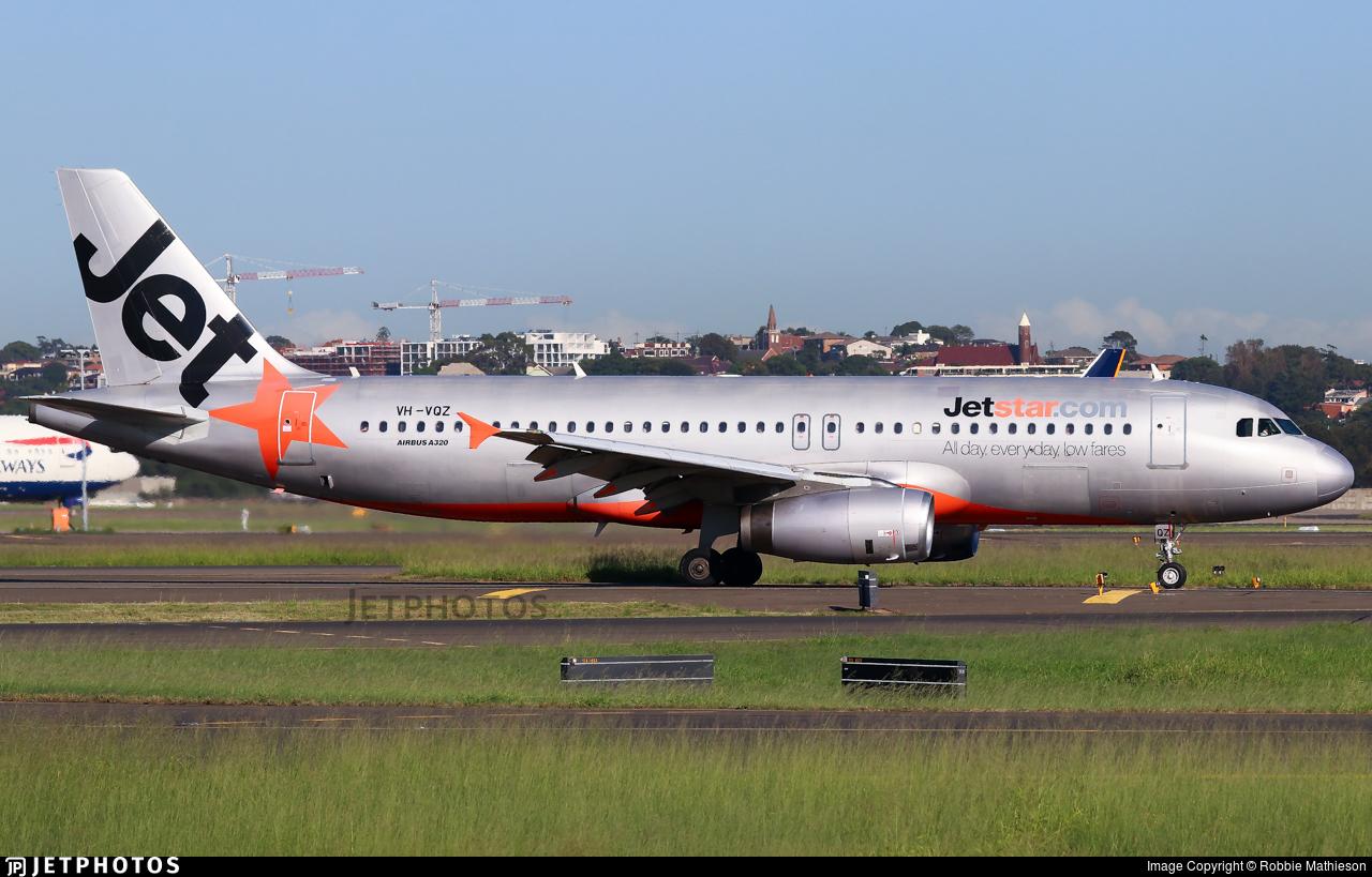 VH-VQZ - Airbus A320-232 - Jetstar Airways