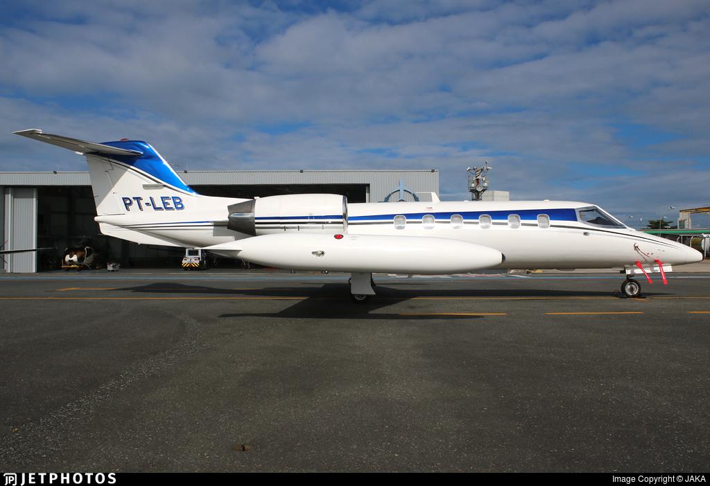 PT-LEB - Bombardier Learjet 35A - Private