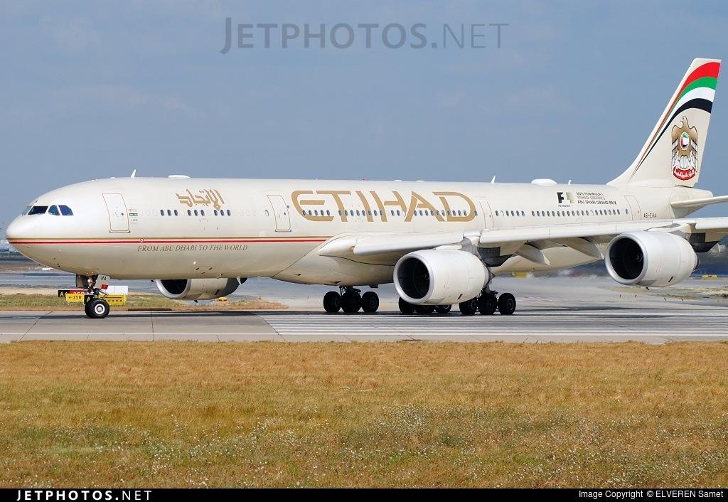 A6-EHA - Airbus A340-541 - Etihad Airways