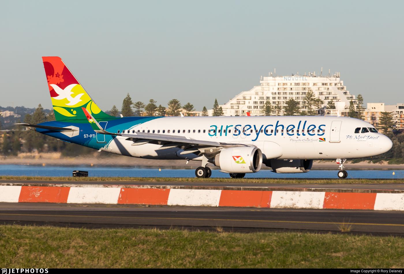 S7-PTI - Airbus A320-251N - Air Seychelles