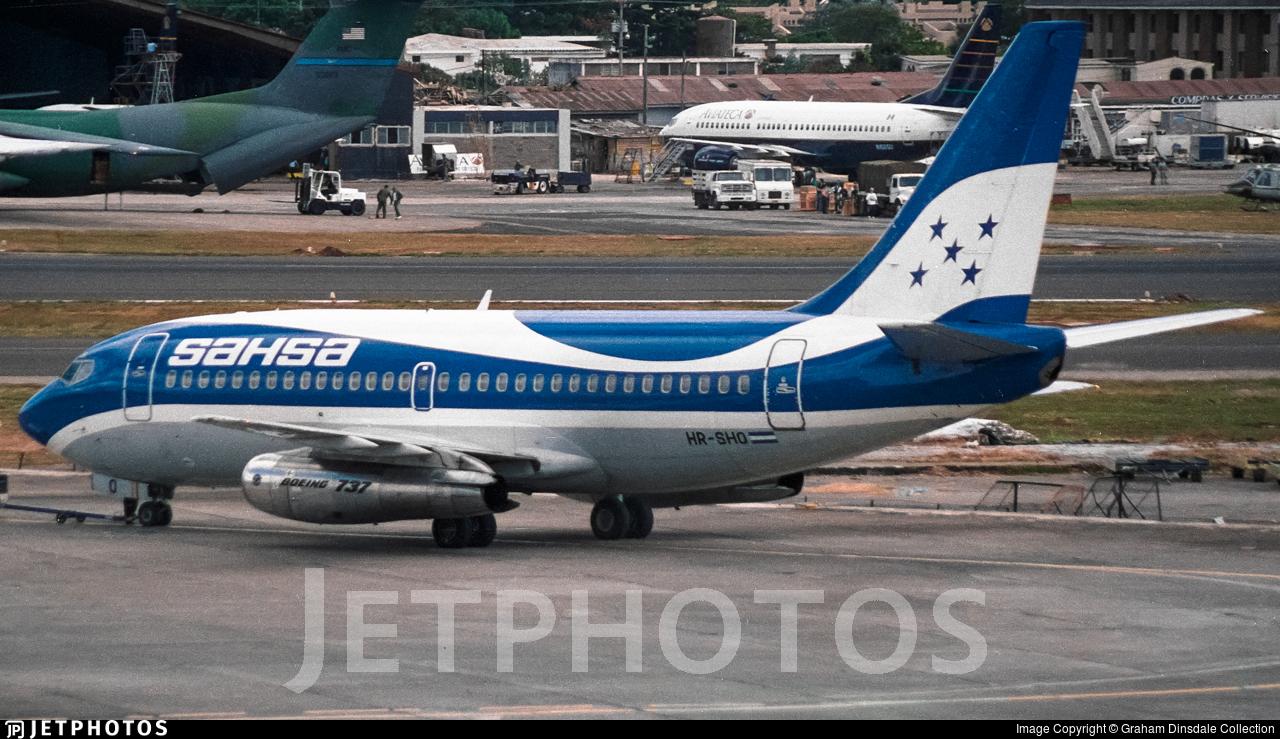 HR-SHO - Boeing 737-2A3 - Tan Sahsa