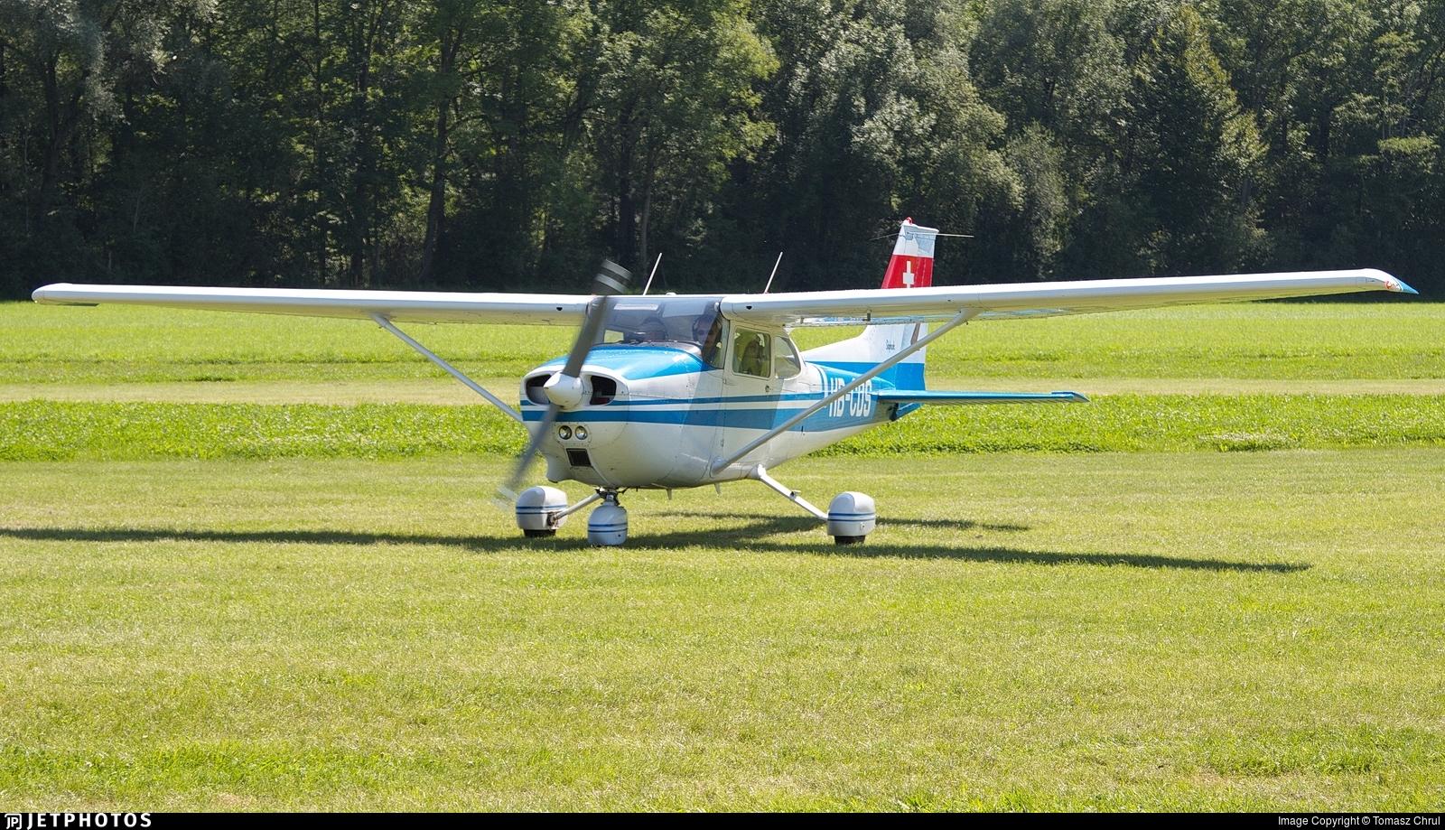 HB-CDS - Reims-Cessna F172M Skyhawk - Private