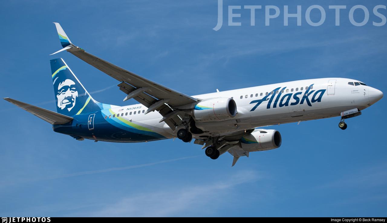 N536AS - Boeing 737-890 - Alaska Airlines