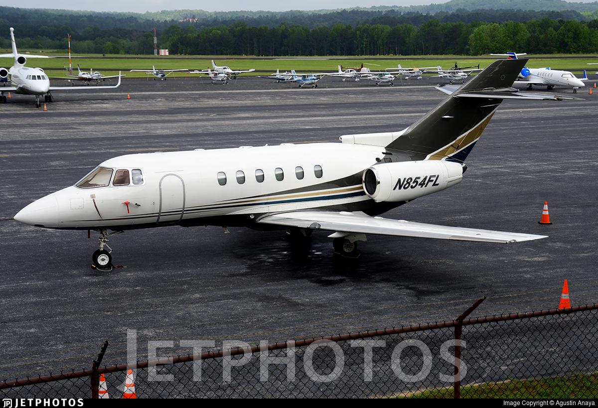 N854FL - Raytheon Hawker 800XP - Flight Options