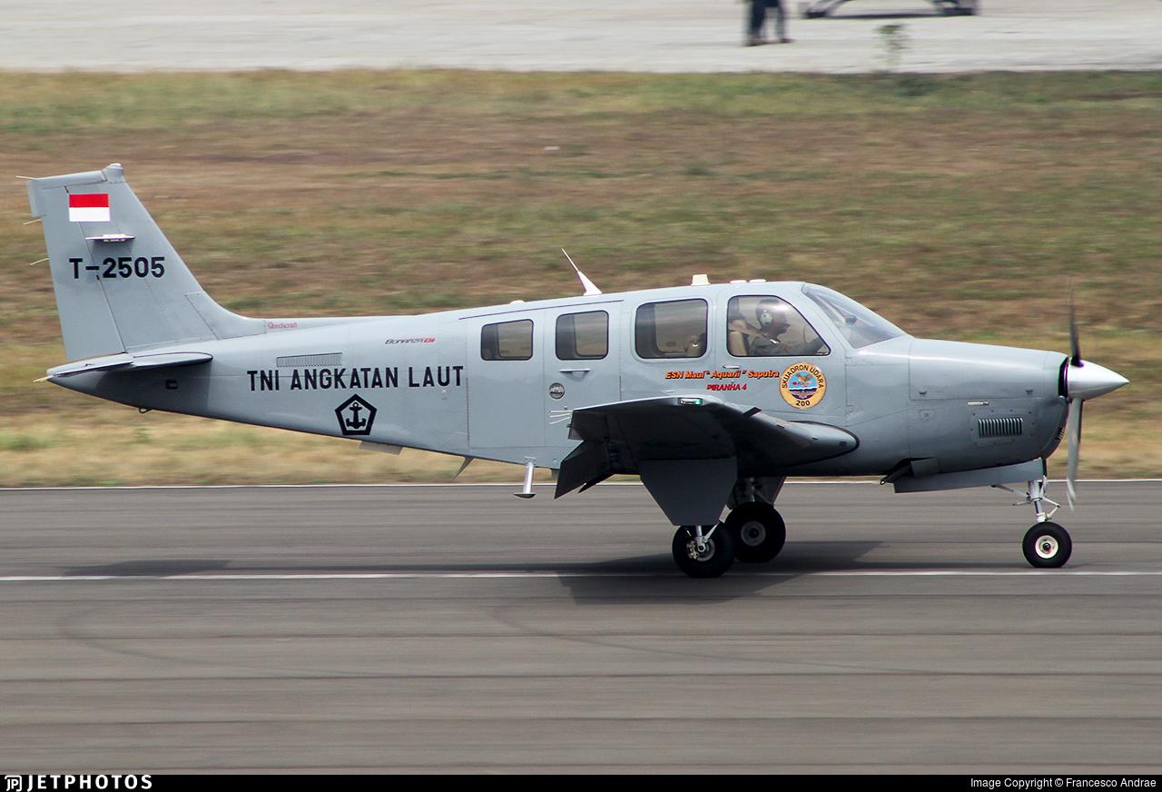 T-2505 - Beechcraft G36 Bonanza - Indonesia - Naval Air Arm