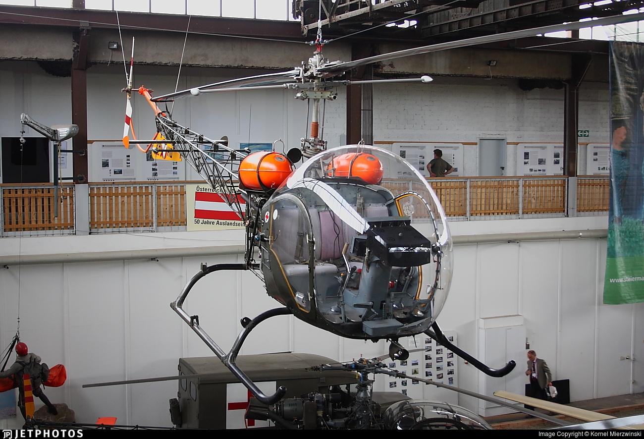 3B-HD - Bell OH-13H Sioux - Austria - Air Force