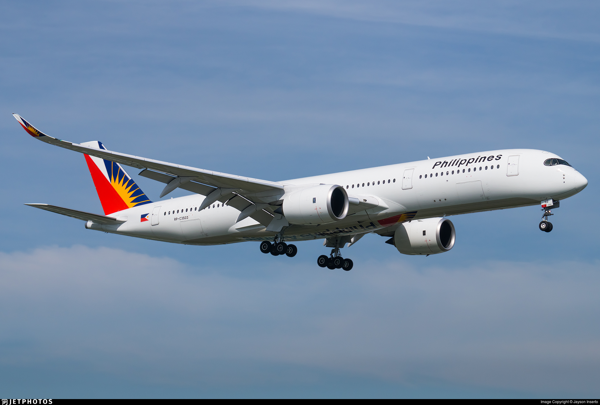 RP-C3503 - Airbus A350-941 - Philippine Airlines