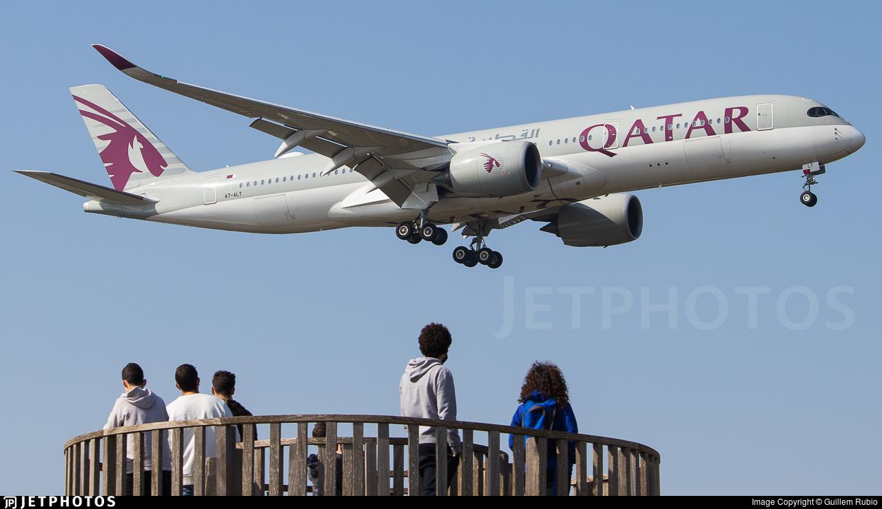 A7-ALT - Airbus A350-941 - Qatar Airways