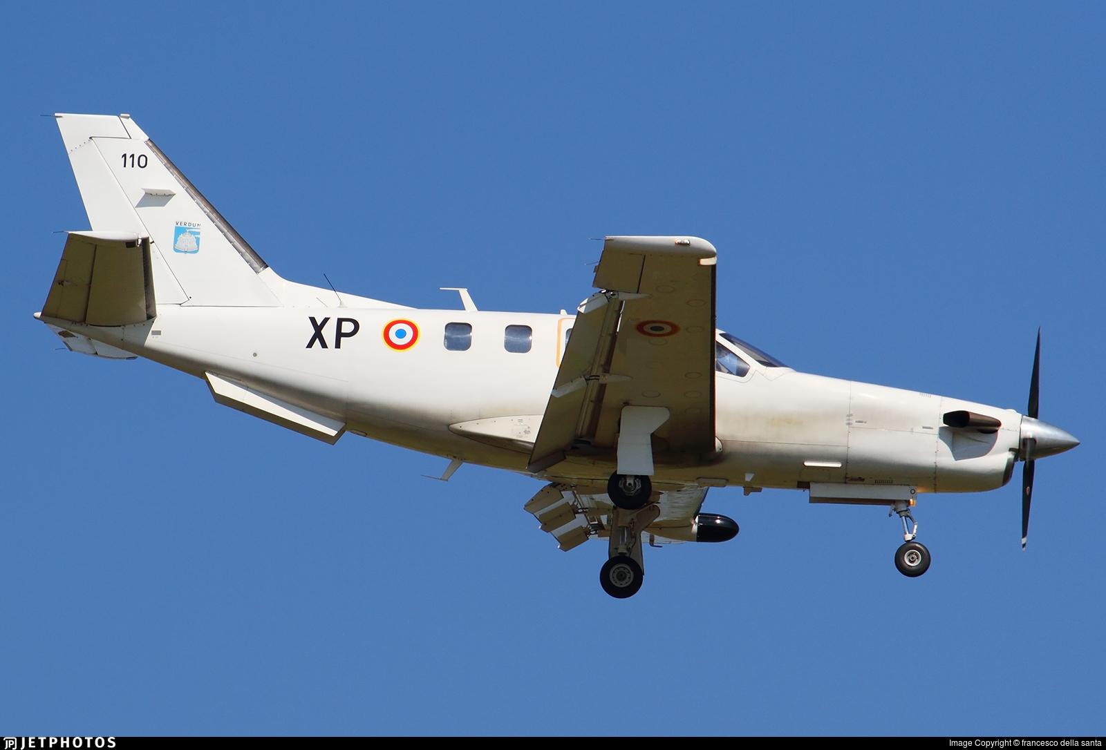 110 - Socata TBM-700 - France - Air Force
