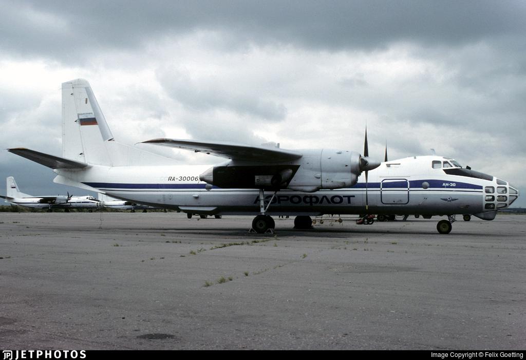 RA-30006 - Antonov An-30 - Aeroflot