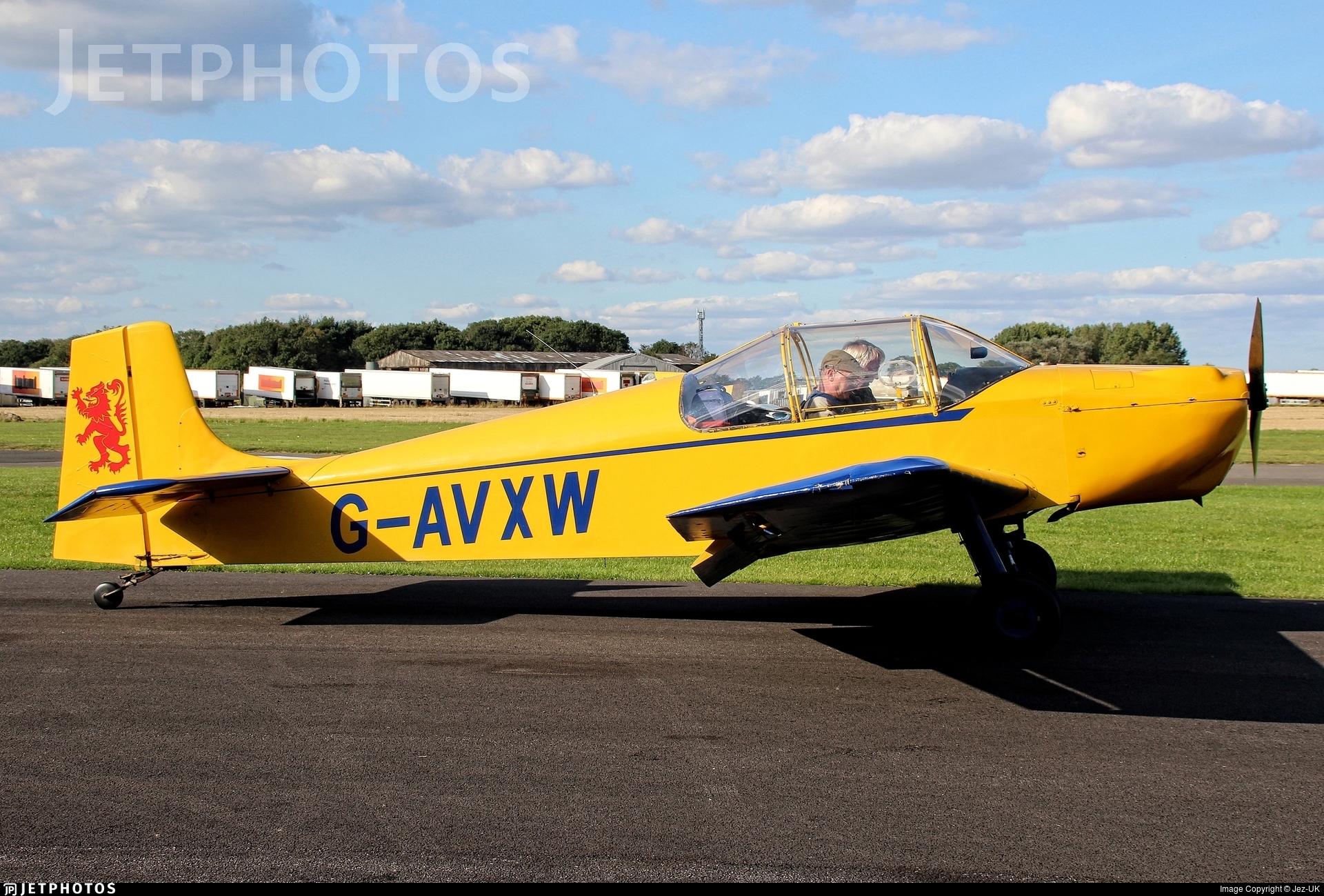 G-AVXW - Druine D.62B Condor - Private