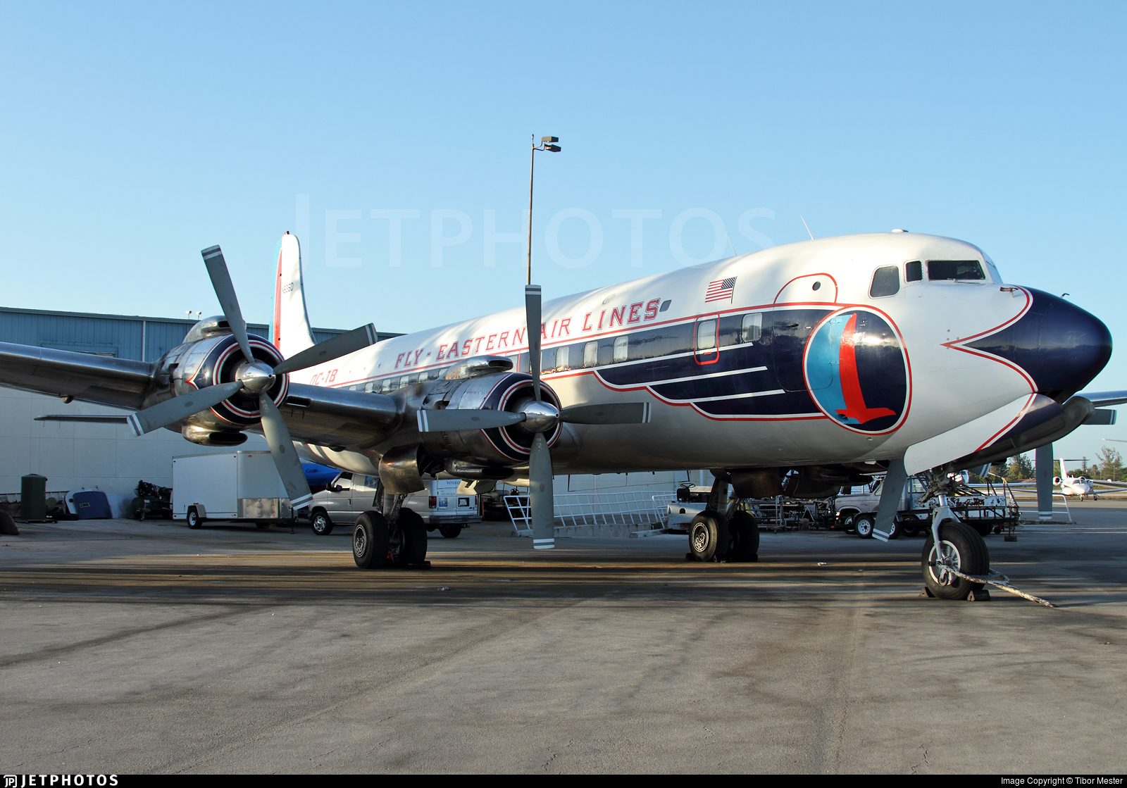 N836D - Douglas DC-7B - Historic Flight Foundation