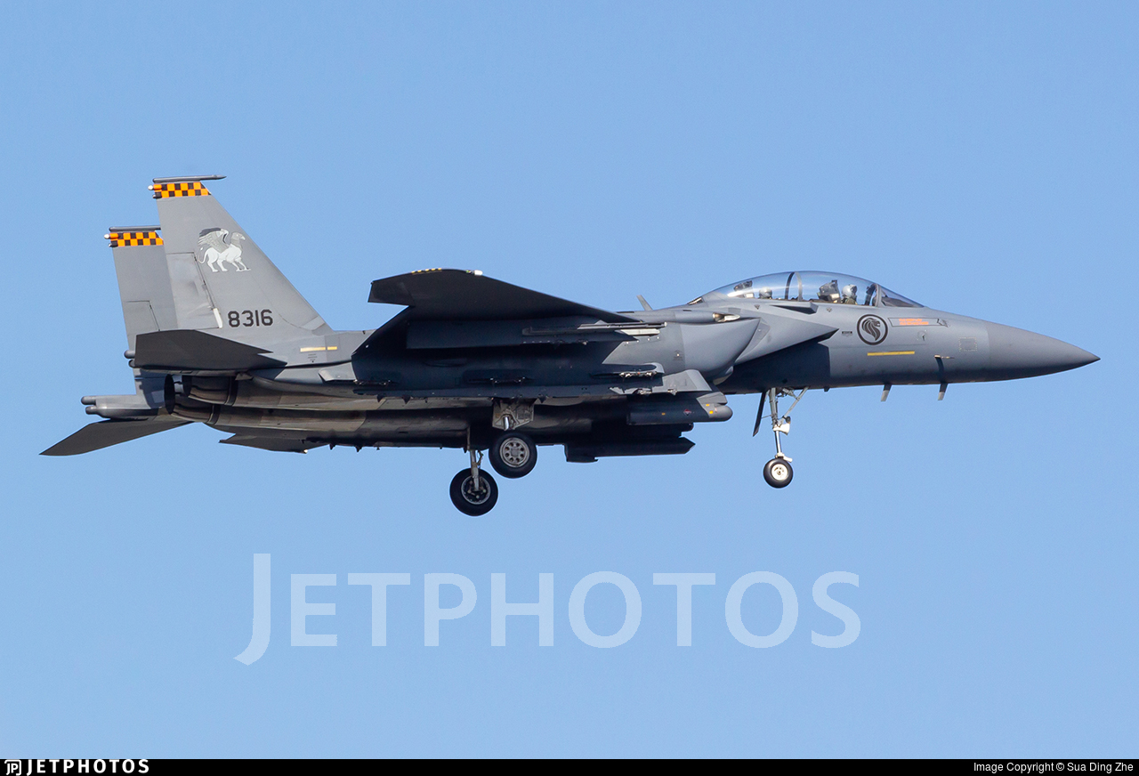 8316 - Boeing F-15SG Strike Eagle - Singapore - Air Force