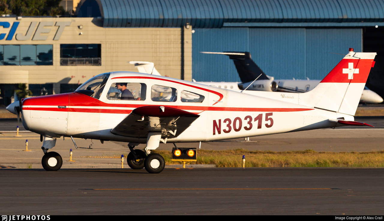 N30315 - Beechcraft A23-24 Musketeer Super III - Private