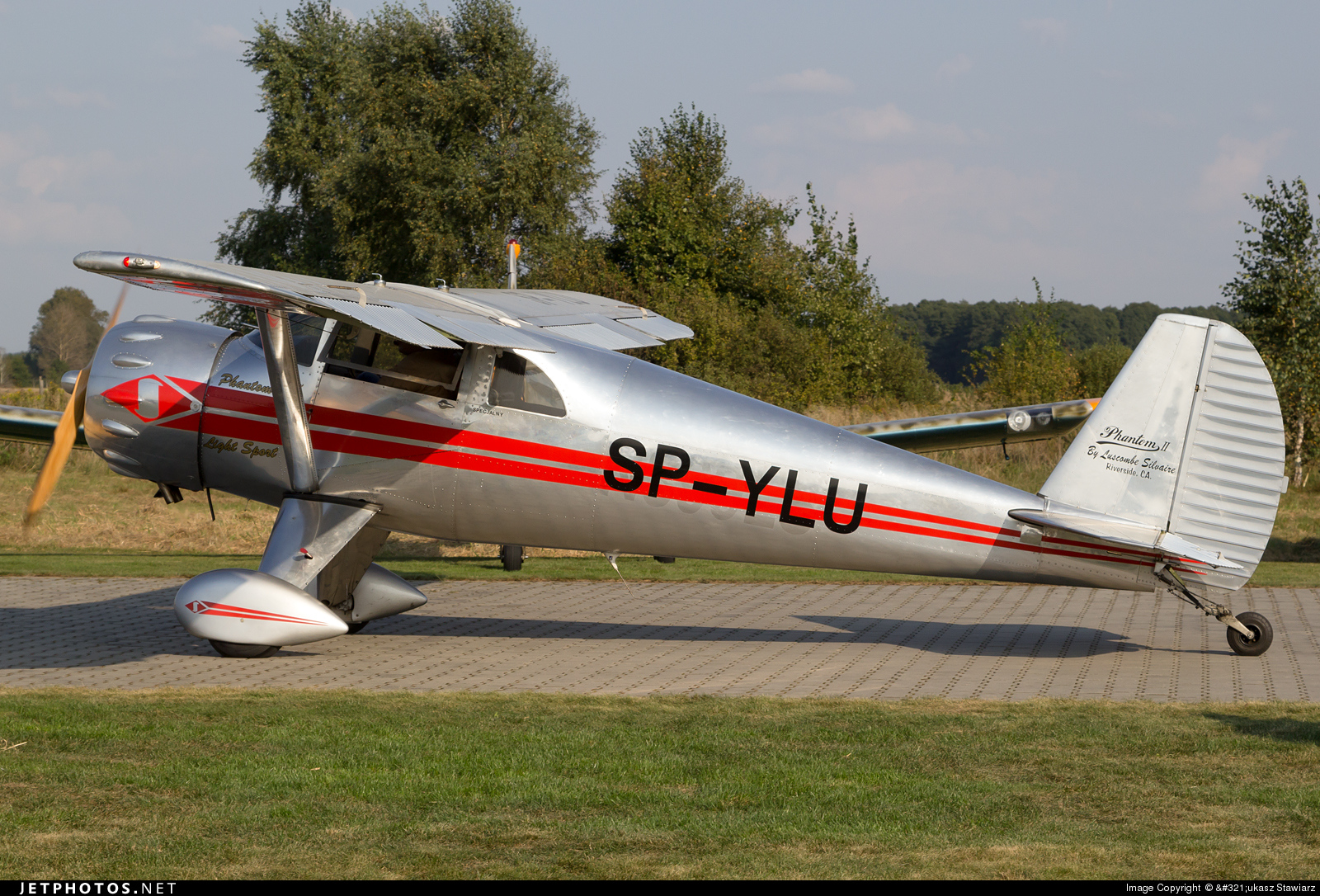 SP-YLU - Luscombe 8A Silvaire - Private