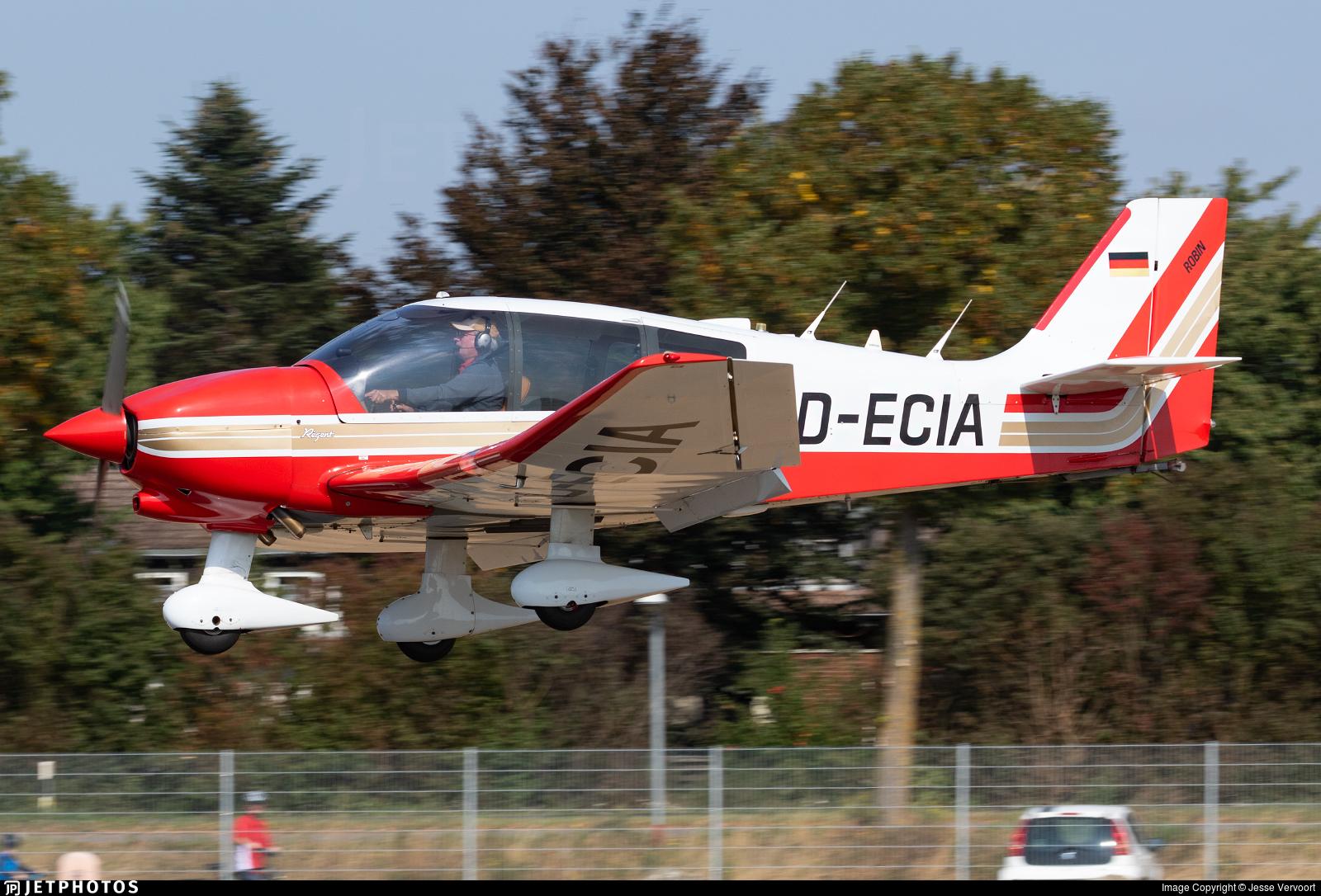 D-ECIA - Robin DR400/180 Régent - Private