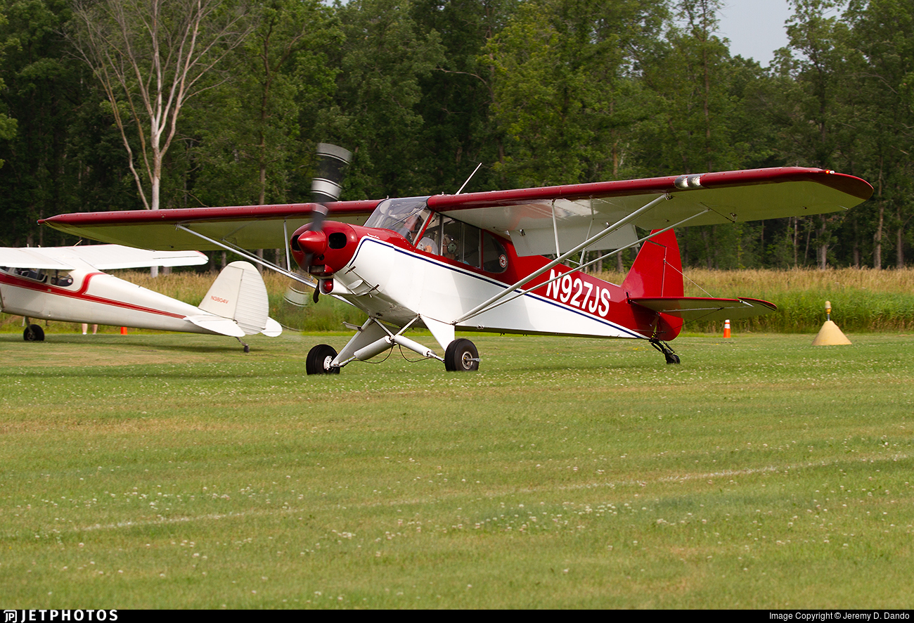 N927JS - Piper PA-18-150 Super Cub - Private