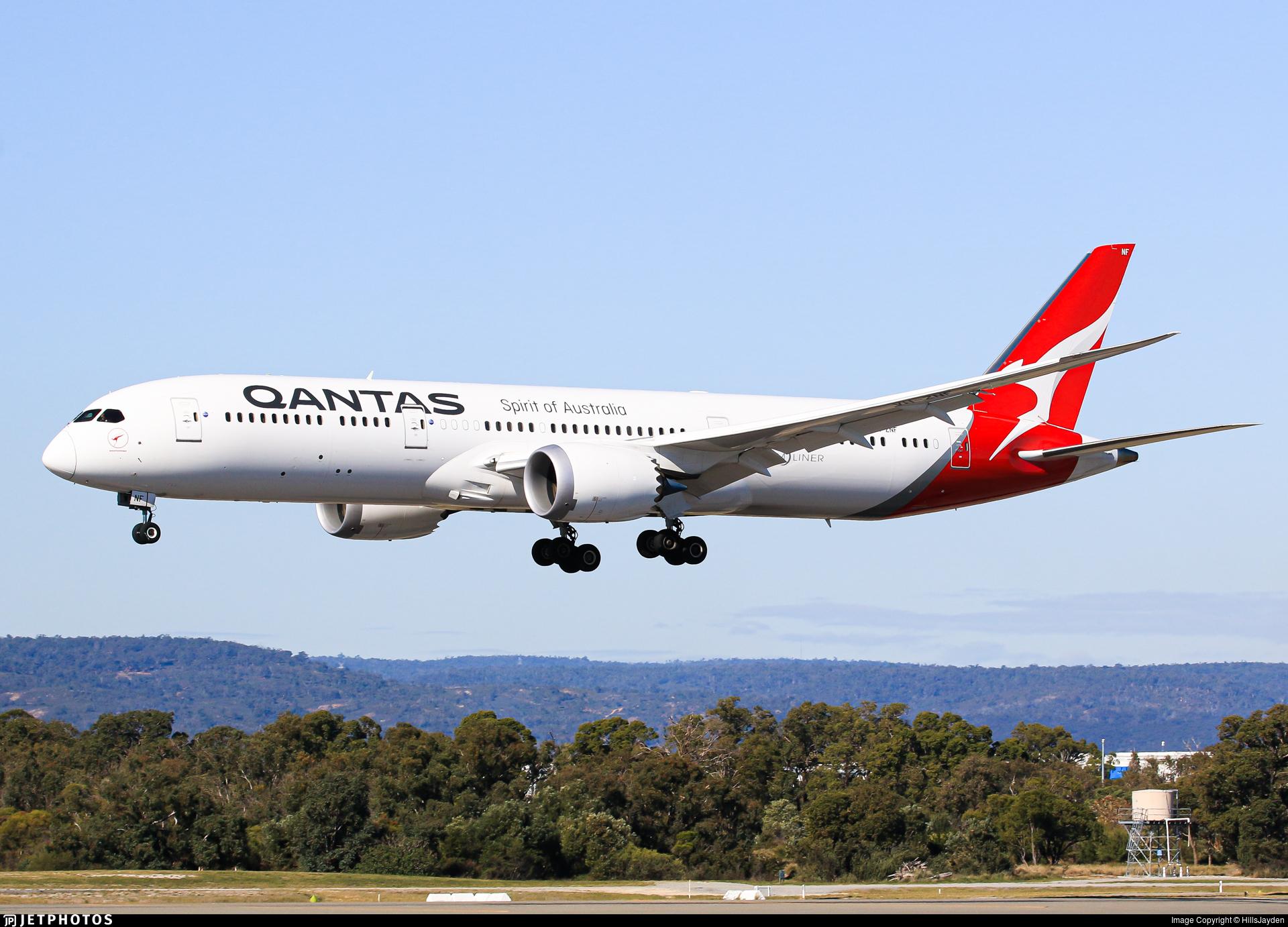 VH-ZNF - Boeing 787-9 Dreamliner - Qantas