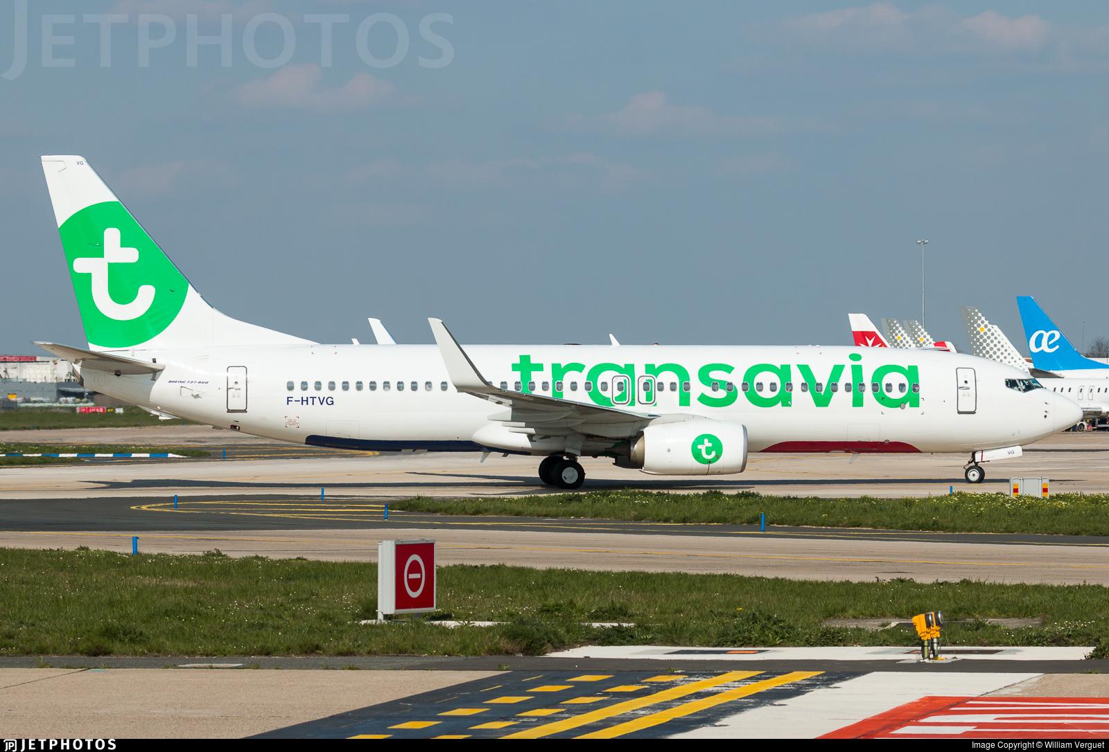 F-HTVG - Boeing 737-8K2 - Transavia France