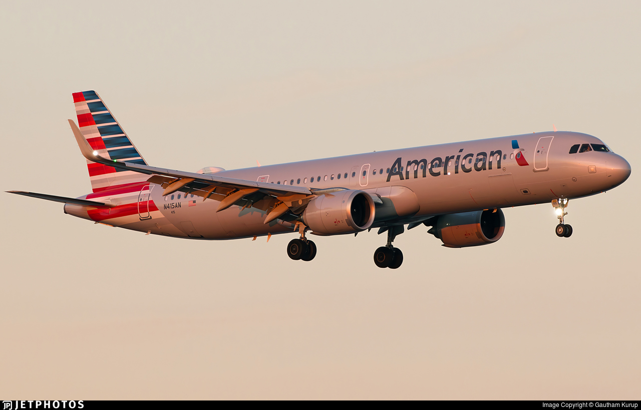 N415AN - Airbus A321-253NX - American Airlines