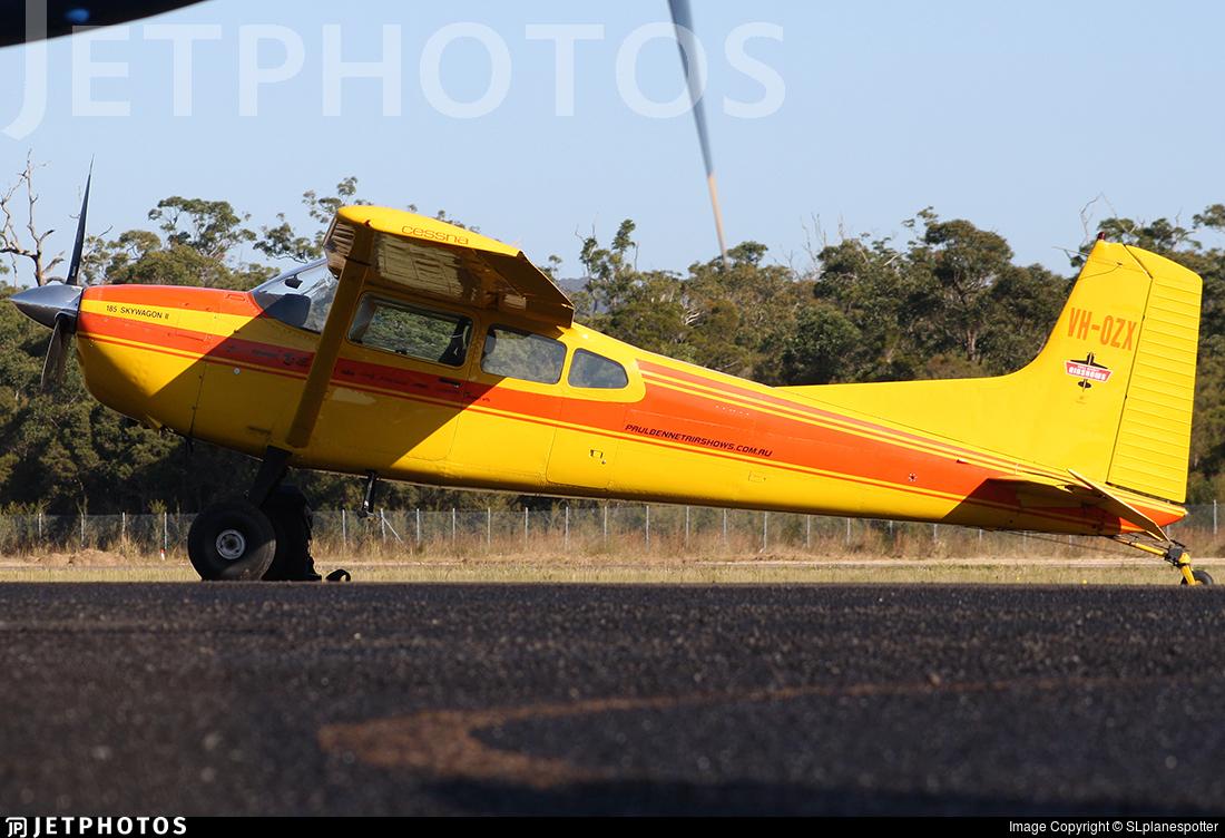 VH-OZX - Cessna A185F Skywagon - Bennet Aviation