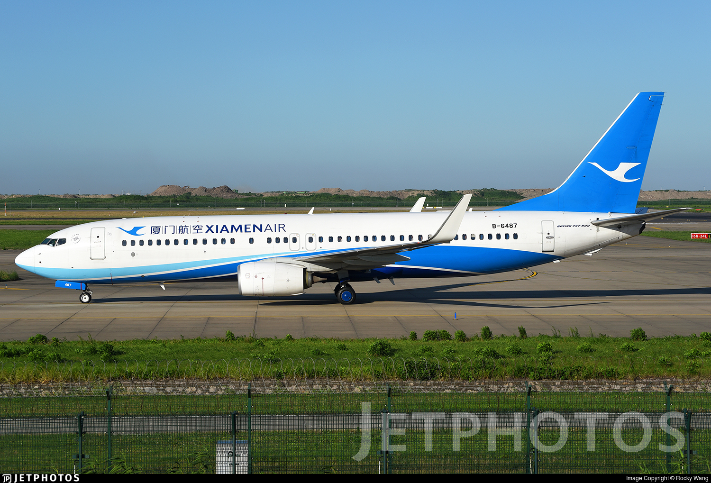 B-6487 - Boeing 737-85C - Xiamen Airlines