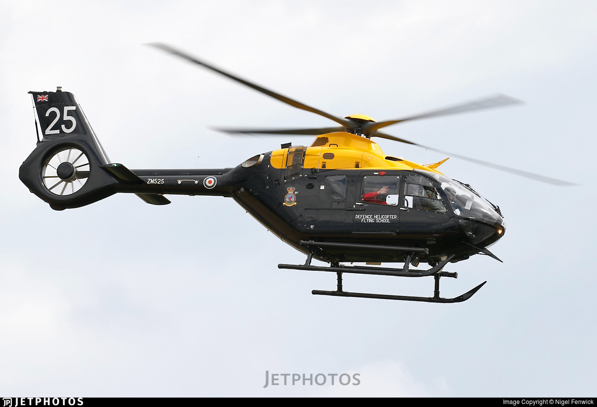 ZM525 - Airbus Helicopters H135M Juno HT.1 - United Kingdom - Defence Helicopter Flying School
