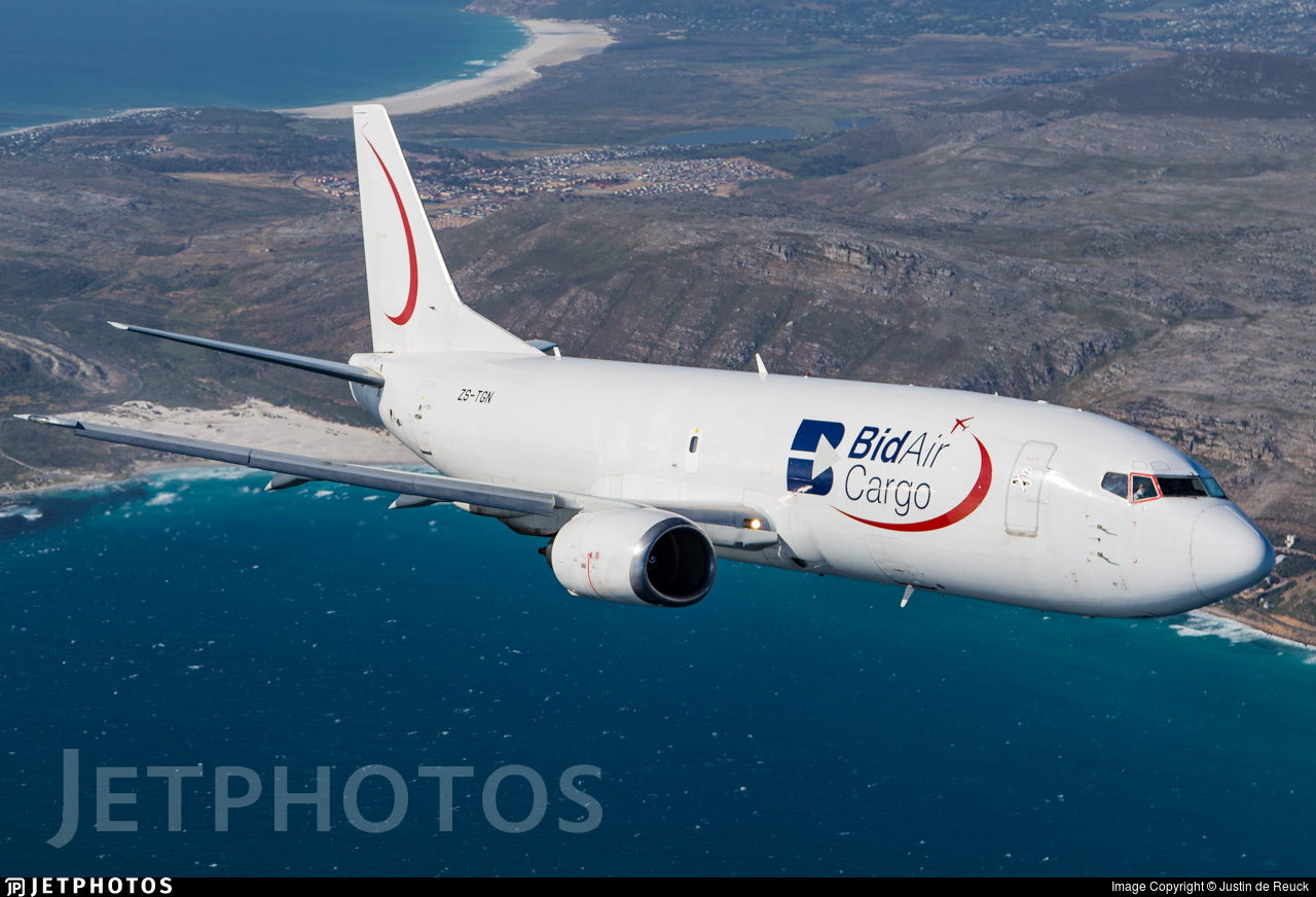 ZS-TGN - Boeing 737-3B7(SF) - BidAir Cargo (Star Air Cargo)
