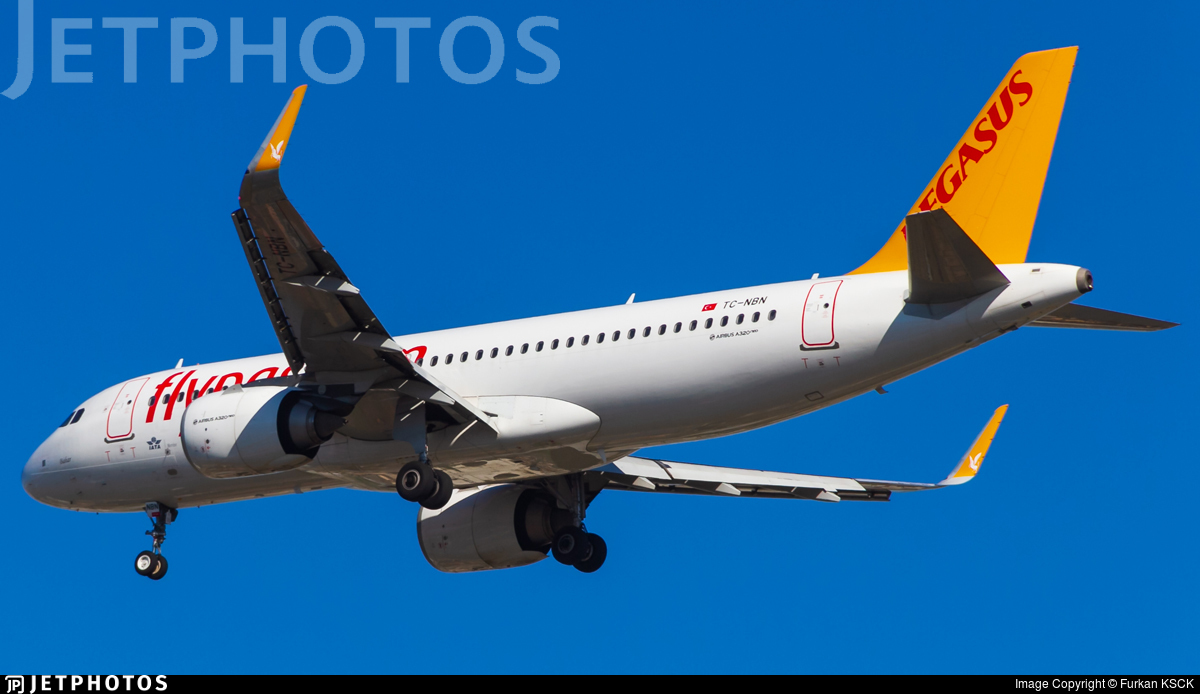 TC-NBN - Airbus A320-251N - Pegasus Airlines