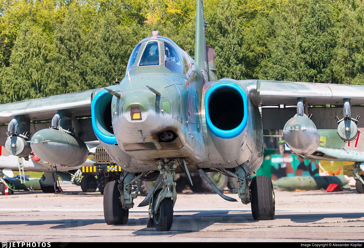 RF-91972 - Sukhoi Su-25BM Frogfoot - Russia - Air Force