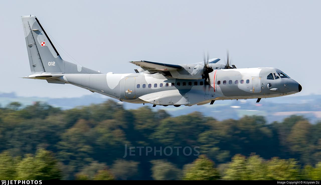 012 - CASA C-295M - Poland - Air Force