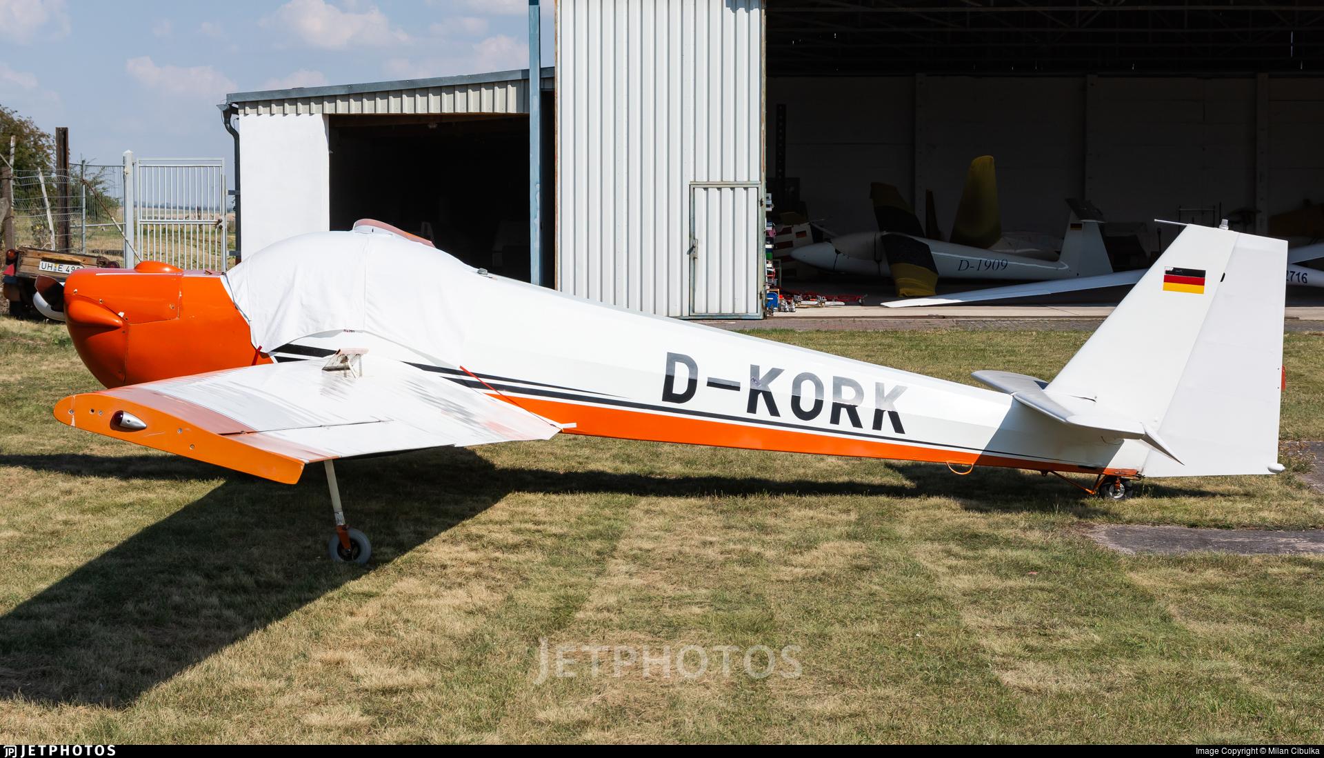 D-KORK - Scheibe SF.25C Falke - Private