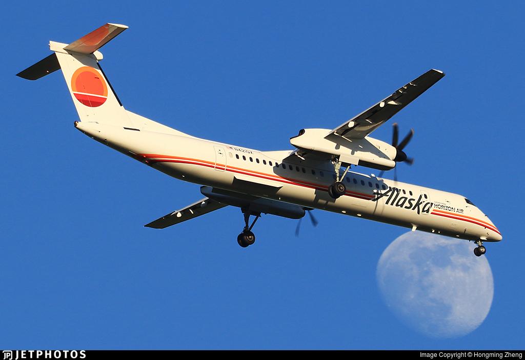 N421QX - Bombardier Dash 8-Q402 - Alaska Airlines (Horizon Air)
